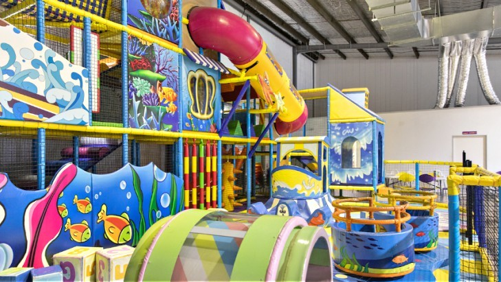 Indoor Play centres - Kids World Playland Bankstown
