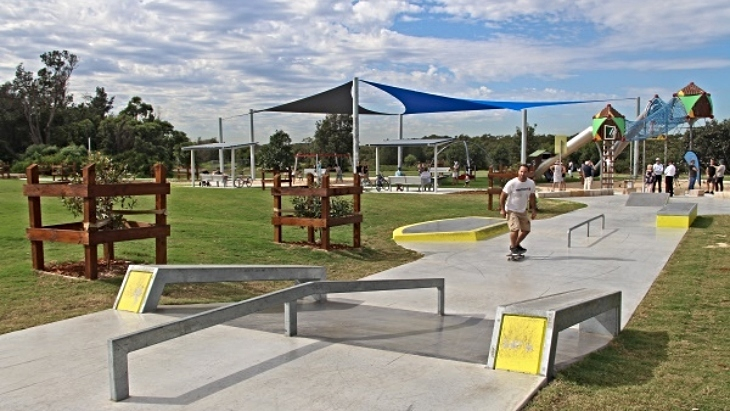 Bonna Point Reserve: A $1.2 million Playground With Shire's Highest Slide