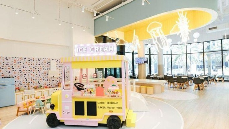 Indoor play centres - Cuto Kids Cafe