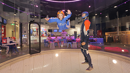 Ifly indoor sky diving for families penrith sydney 426x240