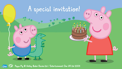 You Re Been Invited Into Peppa Pig S World Ellaslist