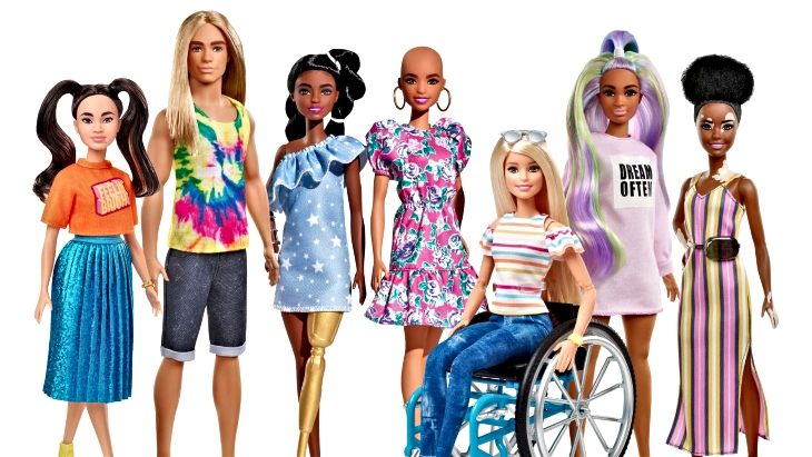 Barbie new inclusive line