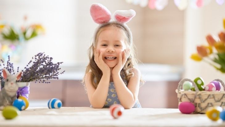 Easter at home with kids
