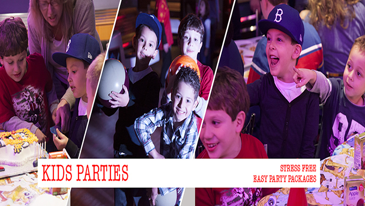 Manhattan Superbowl: Bowling for Kids, Birthday Party Venue
