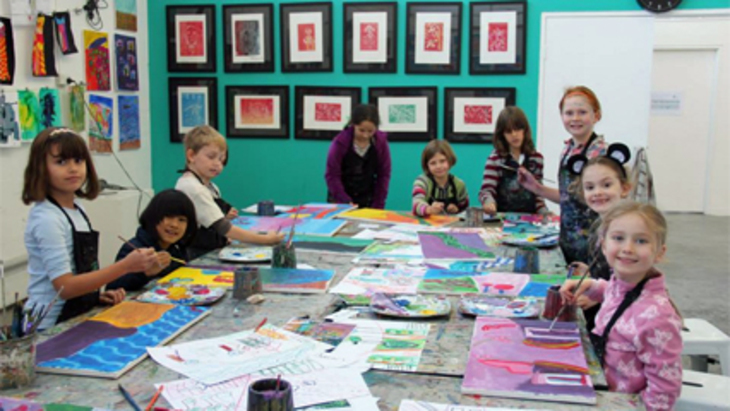Art est school holidays program