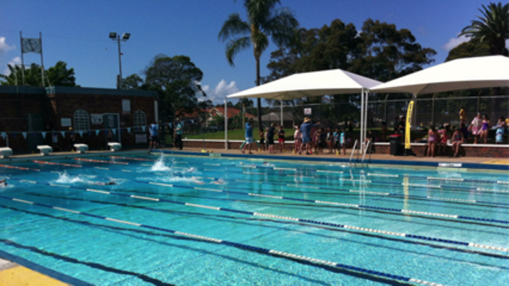 Enfield aquatic centre outdoor pool inner west