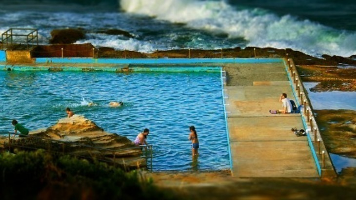 Rock pools northern beaches